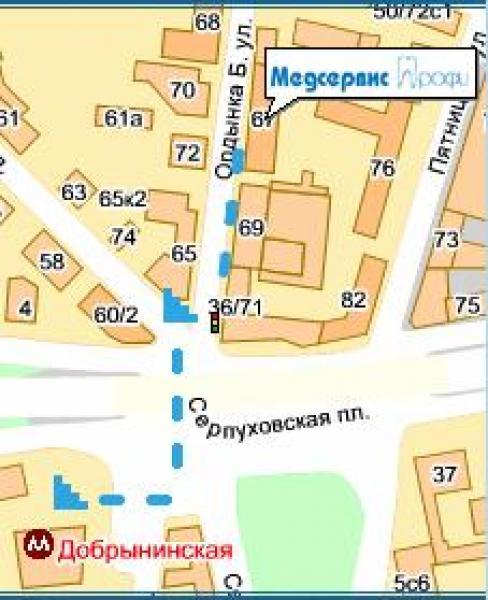 стоматология у м. Полянка