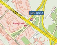 Схема проезда: Аванстом Стоматология Каширская Каширское шоссе, д. 27.
